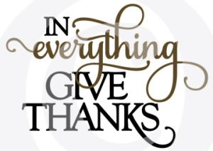 In Everything Give Thanks - Thumbnail